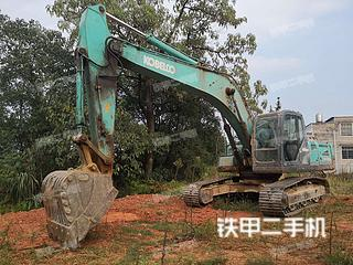 湖南长沙市二手神钢SK260LC-8挖掘机实拍照片