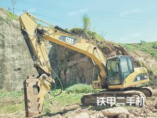 豐都卡特彼勒320D液壓挖掘機實拍圖片