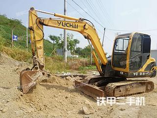 广西-玉林市二手玉柴YC60-8挖掘机实拍照片