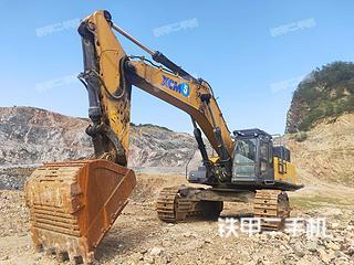 安徽-六安市二手徐工XE700C挖掘机实拍照片