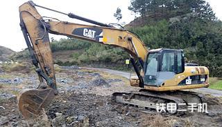 贵州-黔南布依族苗族自治州二手卡特彼勒320D液压挖掘机实拍照片