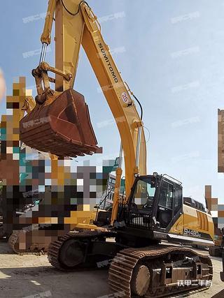 贵州-黔南布依族苗族自治州二手住友SH480HD-6挖掘机实拍照片