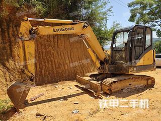 广西-梧州市二手柳工CLG906D挖掘机实拍照片