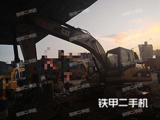 广西-百色市二手卡特彼勒320D液压挖掘机实拍照片