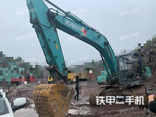 四川-广元市二手神钢SK250-8挖掘机实拍照片