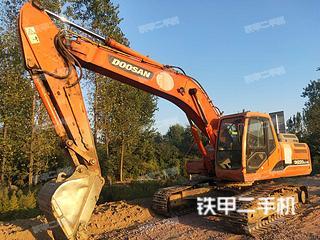 安徽-六安市二手斗山DH220LC-9E挖掘机实拍照片