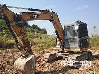 浙江-金华市二手卡特彼勒307E液压挖掘机实拍照片