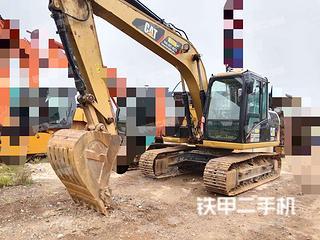 云南-昆明市二手卡特彼勒313D2GC小型液压挖掘机实拍照片
