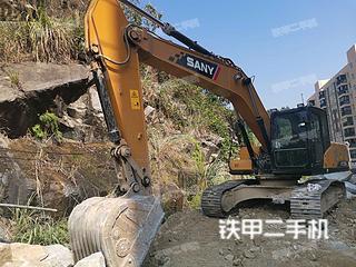 湖北-宜昌市二手三一重工SY215C挖掘机实拍照片