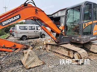 四川-绵阳市二手斗山DH60-7挖掘机实拍照片