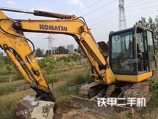 河南-郑州市二手小松PC56-7挖掘机实拍照片
