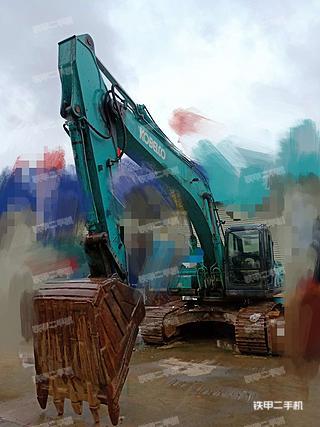 陕西-汉中市二手神钢SK250-8挖掘机实拍照片