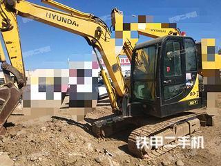 二手现代 R60-7 挖掘机转让出售
