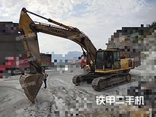 广西河池市二手小松PC360-7挖掘机实拍照片