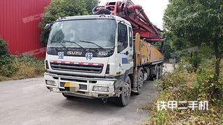 上海三一重工SY5382THB48泵車實拍圖片