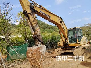 江西赣州市二手小松PC200-7挖掘机实拍照片