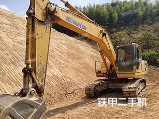 江西赣州市二手小松PC200-8挖掘机实拍照片