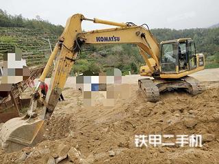安徽安庆市二手小松PC200-8挖掘机实拍照片