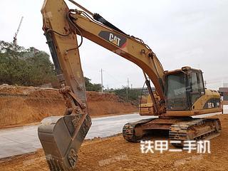 湖南-永州市二手卡特彼勒320D液压挖掘机实拍照片