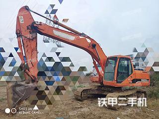 安徽宿州市二手斗山DH220LC-7挖掘机实拍照片