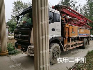 安徽-阜阳市二手九合重工JH5200THB-30泵车实拍照片