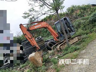广西-百色市二手斗山DH60-7挖掘机实拍照片