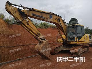 湖南-长沙市二手小松PC200-7挖掘机实拍照片