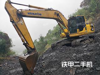 湖南-郴州市二手小松PC200LC-8挖掘机实拍照片