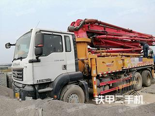 安徽-安庆市二手三一重工SYM5283THBDZ380C-8泵车实拍照片