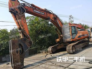 山东-枣庄市二手斗山DH420LC-7挖掘机实拍照片