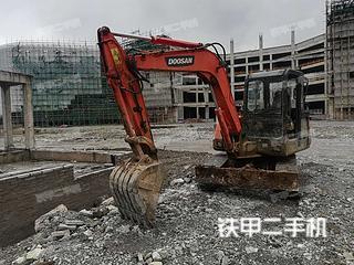 贵州-安顺市二手斗山DH55-V挖掘机实拍照片