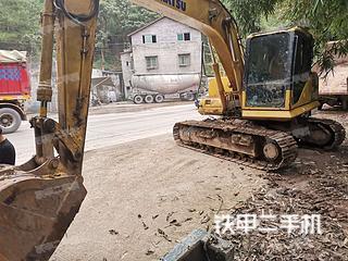 四川-内江市二手小松PC130-7挖掘机实拍照片