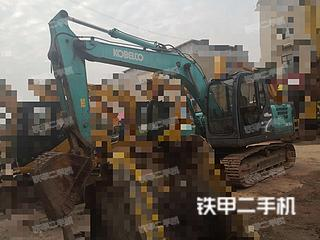 湖南-长沙市二手神钢SK130-8挖掘机实拍照片