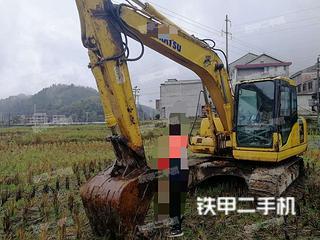 湖南-怀化市二手小松PC130-7挖掘机实拍照片