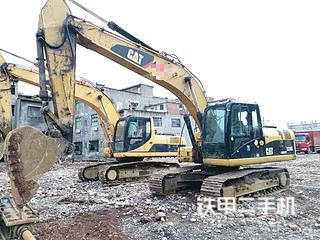 四川-泸州市二手卡特彼勒320D液压挖掘机实拍照片