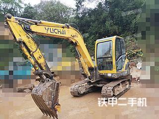 湖南-郴州市二手玉柴YC60-8挖掘机实拍照片