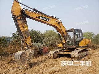 河南-郑州市二手三一重工SY215C挖掘机实拍照片