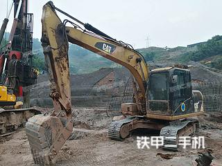 四川-泸州市二手卡特彼勒312D2GC挖掘机实拍照片