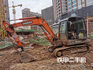 四川-广安市二手斗山DH60-7挖掘机实拍照片