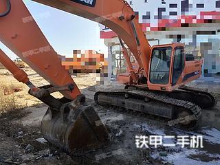 内蒙古-鄂尔多斯市二手斗山DH420LC-7挖掘机实拍照片