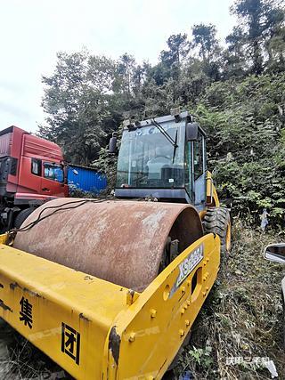 贵州-铜仁市二手徐工XS202J压路机实拍照片