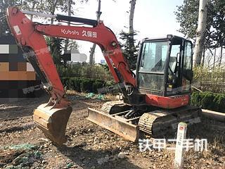 久保田KX155-5挖掘机实拍图片