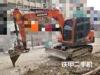 广西-河池市二手斗山DX75-9C挖掘机实拍照片