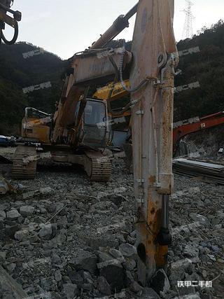 浙江-丽水市二手现代R210-5挖掘机实拍照片
