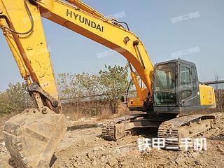 现代R225LC-7挖掘机实拍图片