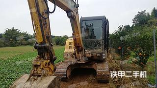 四川-德阳市二手现代R60-7挖掘机实拍照片