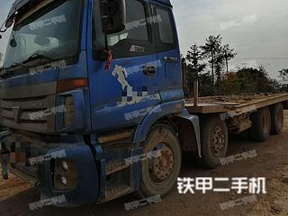福田欧曼8X4平板运输车实拍图片