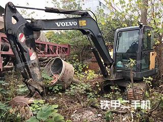 沃尔沃EC60C挖掘机实拍图片