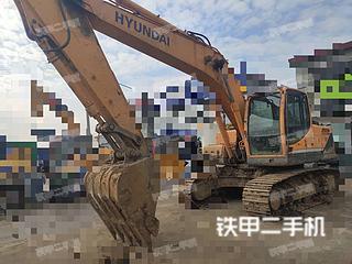 信阳现代R215-9挖掘机实拍图片