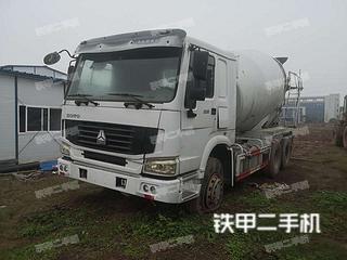 中国重汽ZZ5255GJBN4346C1搅拌运输车实拍图片
